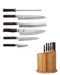 I love the Shun Hiro 7-Piece Knife Block Set on Williams-Sonoma.com