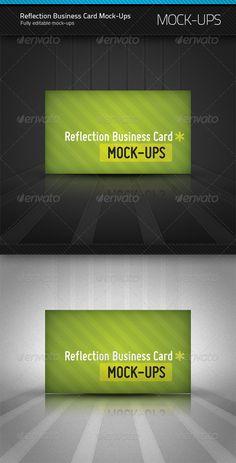 719 best business card mockup images on pinterest miniatures reflection business card mockup colourmoves