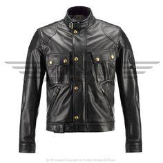 Belstaff Olivers Mount Leather Blouson