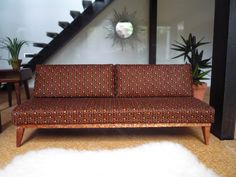 Dolls House Mid Century Modern Style Daybed by AlicesMiniatures