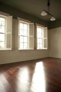 Chemicals arent necessary to make wood floors shine.