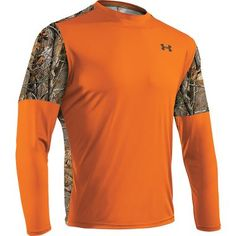 Men's Shirt, but I don't care, I want one to sleep on, i mean in, no on - so comfy to cuddle with... Under Armour® Wylie Blaze With Realtree AP™ Long-Sleeve Tee at Cabela's