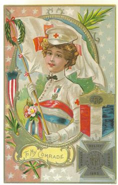 Decoration Day Daughter of The Regiment Postcard