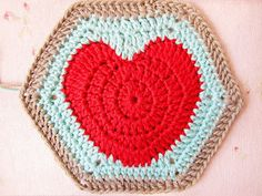 Happy Valentines...and a Hearty Hexagon Pattern