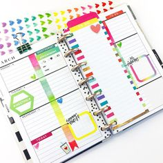 """605 Likes, 13 Comments - Nita Patterson (@neatlyplanned) on Instagram: """"My Mini @the_happy_planner helps to keep my busy life on track! I add the small notepad sheets to…"""" happy planner"""
