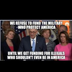 Since when did our elected officials start working for illegals? Liberal Hypocrisy, Liberal Logic, Truth Hurts, It Hurts, Political Memes, Conservative Politics, Things To Think About, Humor, Free Stuff