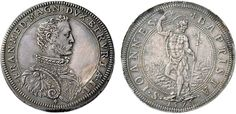 NumisBids: Nomisma Spa Auction 50, Lot 88 : FIRENZE Francesco I (1574-1587) Piastra 1575 – cfr. MIR 181/2 AG (g...