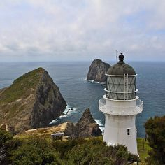 Coastal views at Cape Brett Northland. The lighthouse was built in 1906. #nzmustdo - @theglobalcouple on Instagram