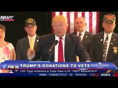 Donald Trump releases Donation Amounts to Vets, Veterans protest Press Conference LIVE 46:28 'Donald Trump owes an apology to the veteran community for trying to use us as a political prop in a campaign of HATRED'