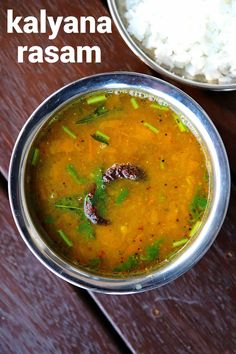 kalyana rasam recipe, how to make brahmin wedding rasam with step by step photo/video. authentic & traditional spicy lentil soup recipe with spices. Veg Recipes, Spicy Recipes, Curry Recipes, Indian Food Recipes, Vegetarian Recipes, Cooking Recipes, Dinner Recipes, Indian Snacks, Andhra Recipes