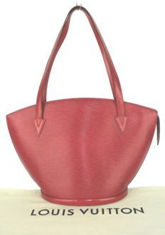 ed2eeb459471 Louis Vuitton - Castillion Red Epi Leather St. Jacques Tote bag - Vintage