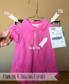 Consignment Sale Clothing Prep Tips
