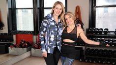 Anna Kaiser's Top 3 Moves to Start the New Year Right: New York-based trainer Anna Kaiser has helped Kelly Ripa, Sarah Jessica Parker, and Shakira get fit -and now, with a brand-new DVD called Happy Hour, she's here to assist us too!