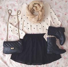 Black & White Fashion.