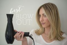Pretty Blowout Hair Tutorials You Won't Miss