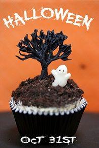 Spooky Tree Ghost