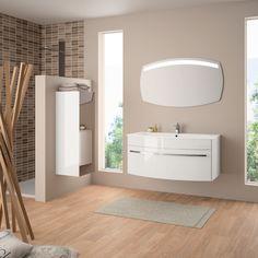 Meuble de salle de bain Cedam - gamme Laura. Osez la couleur avec ...