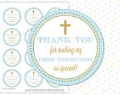 Etsy - Checkout - Shipping Thank You Stickers, Thank You Tags, Baptism Party Favors, Wedding Advice Cards, First Communion Gifts, Christening, Special Day, Gift Tags, Pink