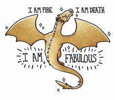 Whatever helps you sleep at night, Smaug. <-- Yes, you ... slightly - okay, PROBABLY QUITE (Lily who are you trying to kid?) violent little red Welsh rock cake of doom and fire. *pats on the head*