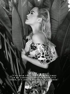 Rita Ora InStyle UK April 2015