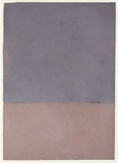 mark rothko, untitled (gray & mauve) 1969.
