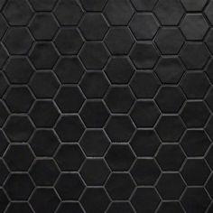 Black Hexagon Tile, Black Tiles, Hexagon Tiles, Hexagon Tile Bathroom Floor, Ceramic Mosaic Tile, Mosaic Wall, Wall Tiles, Porcelain Tile, Cleaning Ceramic Tiles
