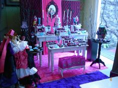 Monster High Birthday Party Ideas | Photo 1 of 23