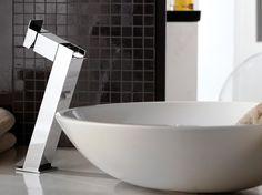 FLASH Miscelatore per lavabo a cascata by Remer Rubinetterie