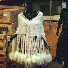 Pretty cool shawl from Rhianna. #fashion