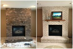 Changing Brick Color Without Paint White Wash Or Stain