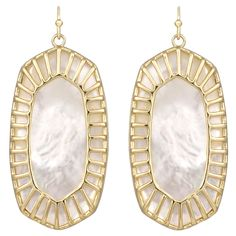 Kendra Scott Delilah Ivory Earrings. #laylagrayce #holidaygiftshop #forher $75.00