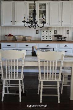 FARMHOUSE 5540: Our Farmhouse Kitchen Table