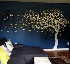 If you have been bored of painting walls, using stencils and putting up wallpapers, use this gorgeous wall decal and sticker for decoration. It will make your room shine without damaging your walls or the bank. It will make your room shine without damaging your walls or the bank. Default colors: Tree trunk-white, leaves-yellow plus maize. In the decal package, you will get your decal, step by step instruction, installation tool and free sample decal for practice. Product can be applied on…