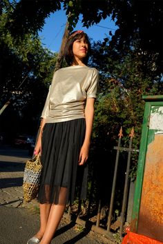 Midi Skirt, Glamour, Skirts, Street, Fashion, Moda, Fashion Styles, Midi Skirts, Skirt