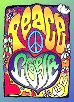 ☮ American Hippie Art ☮ Peace and Love Paz Hippie, Hippie Peace, Happy Hippie, Hippie Love, Hippie Man, Hippie Style, Hippie Chick, Hippy Girl, Hippie Things