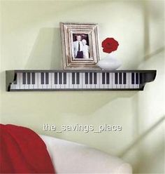 WOODEN-MUSICAL-THEMED-PIANO-GUITAR-MUSICAL-NOTES-WALL-SHELF-HOME-DECOR-STORAGE