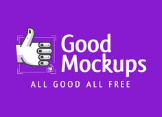 Good Mockups is an online podium to bring before you the high quality, hand-picked and absolutely free mockups that you have been probing everywhere.