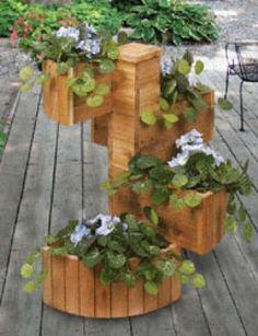 cedar spiral woodworking plan