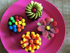 Picture of Colourful Chocolate Cupcakes