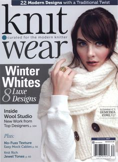Journal on knitting, on-line, obtain Knit Put on Fall Winter 2017 Continued from 51 p. Knit Put on Fall Winter 2017 Vogue Knitting, Knitting Books, Knitting Charts, Knitting Projects, Baby Knitting, Free Knitting, Crochet Book Cover, Crochet Books, Knitting Magazine