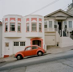 SF .. I used to have an orange Beatle that I drove all through the city. It was a happy challenge :)