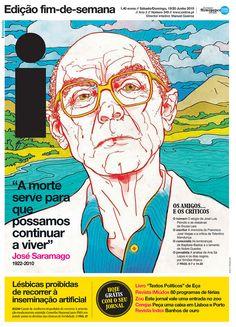 Alguien conoce quien es el autor de este retrato de José Saramago?