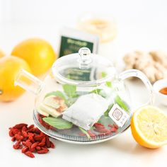 Everyday Detox Tea is the elixir you need when you're struggling to jump-start your day. This mélangeof natural flavors reinvigorates and refreshes, setting the tone for making healthier choices.There are more than a fewingredients here, but they're specific ones meant for vitality. First, there's green tea, an effective metabolism booster. Then, there's mint and ginger, known for being anti-inflammatory. Honey, gogi berries and lemon juice are all loaded withantioxidants a...