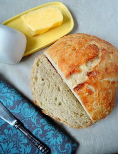 Simple easy absolutely no knead peasant bread recipe that any one can make. It is delicious simple and perfect to make overnight or while at work.