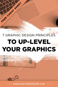 If you're learning graphic design and want to up-level your graphic design aesthetic right from the get-go, this is the post for you. Click through to learn the graphic design principles they only teach you in school.