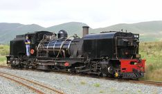 South African Railways 2 ft (610 mm) gauge SAR NGG 16 Class Garratt, preserved in operating condition on the Welsh Highland Railway