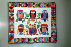 owl quilt by Leah3, via Flickr
