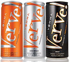 Verve Energy Drinks, which one is yours? Try them all. http://healthynutritionforlife.vemma.com