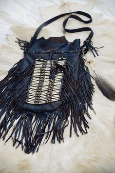 dreamweaver bag - antique brown leather