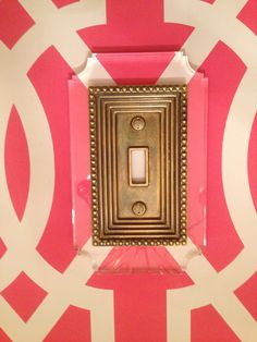 SNEEK PEEK: Fabulous Switch Plates from Reprotique / The English Room Blog